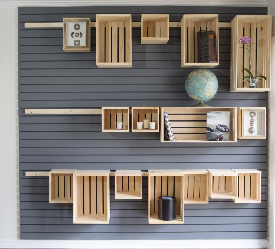 Hang anything on your wall with a french cleat storage for Decor systems
